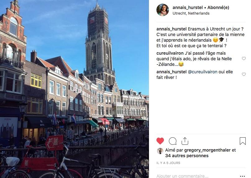 Image d'une rue d'Utrecht